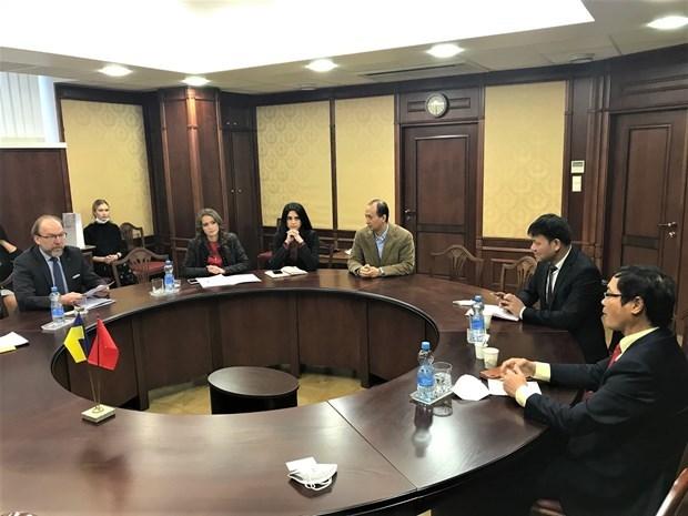 Vietnam y Ucrania fortalecen nexos de cooperacion comercial hinh anh 1