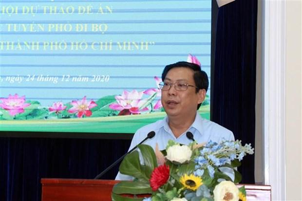 Proponen abrir mas calles peatonales en Ciudad Ho Chi Minh hinh anh 1