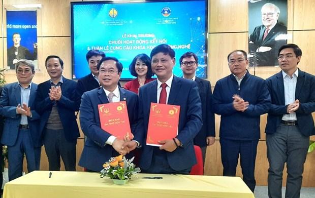 Celebran en Hanoi la Semana de Oferta y Demanda de Ciencia y Tecnologia hinh anh 1