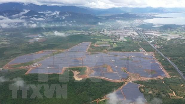 Inauguran nueva planta de energia solar en provincia vietnamita hinh anh 1