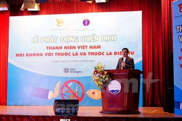 Vietnam persiste en minimizar el consumo de tabaco en los jovenes hinh anh 1