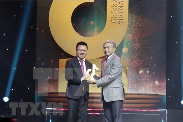 Gana VNA premio de TikTok para canal informativo de influencia social hinh anh 1
