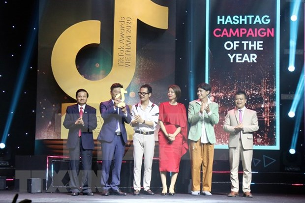 Gana VNA premio de TikTok para canal informativo de influencia social hinh anh 3