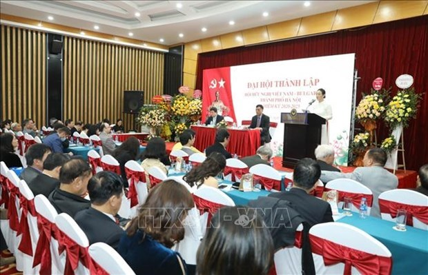 Fundan en Hanoi filial de Asociacion de Amistad Vietnam-Bulgaria hinh anh 1