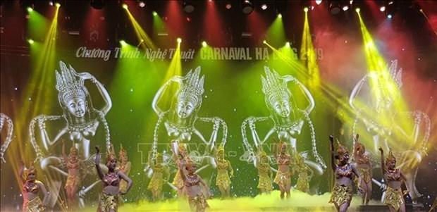 Disfrutaran del Festival de Carnaval de Invierno en provincia vietnamita de Quang Ninh hinh anh 1