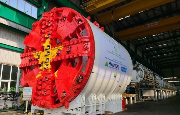 Completaran tuneladora de tramo subterraneo del metro Hanoi hinh anh 1