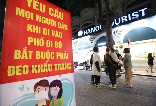 Lista Hanoi para prevenir y controlar el COVID-19 en todos los niveles hinh anh 1