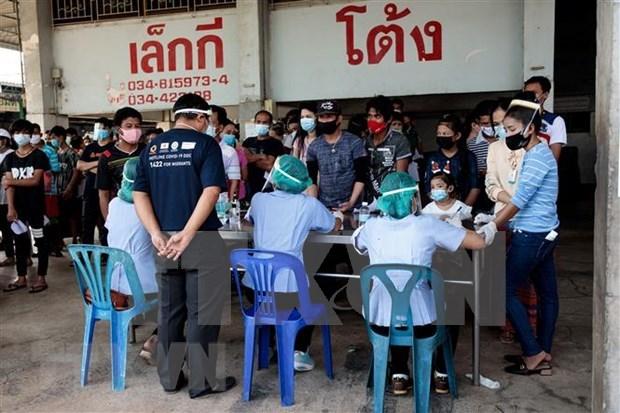 Tailandia registra otros 155 pacientes del COVID-19 hinh anh 1