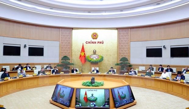 Gobierno de Vietnam celebra reunion ordinaria centrada en diseno de politicas y leyes hinh anh 2