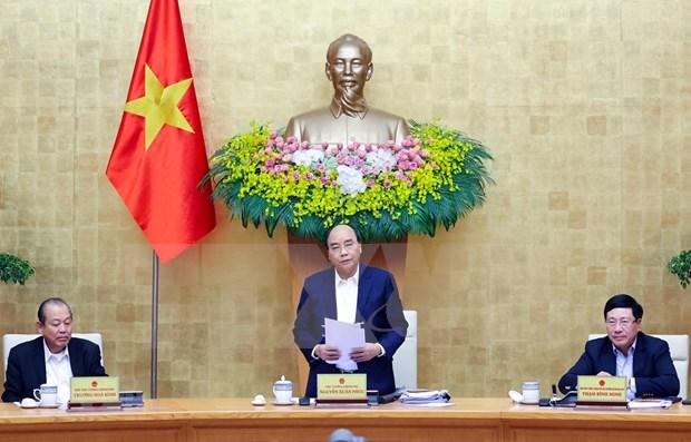 Gobierno de Vietnam celebra reunion ordinaria centrada en diseno de politicas y leyes hinh anh 1