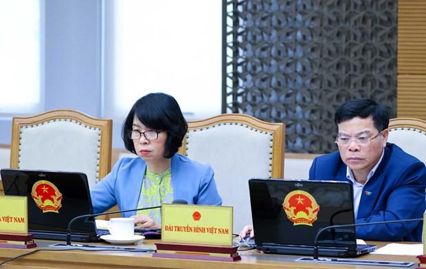 Gobierno de Vietnam celebra reunion ordinaria centrada en diseno de politicas y leyes hinh anh 3