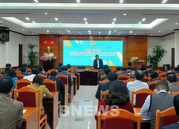 Efectuan conferencia de balance sobre construccion de nuevas areas rurales hinh anh 1