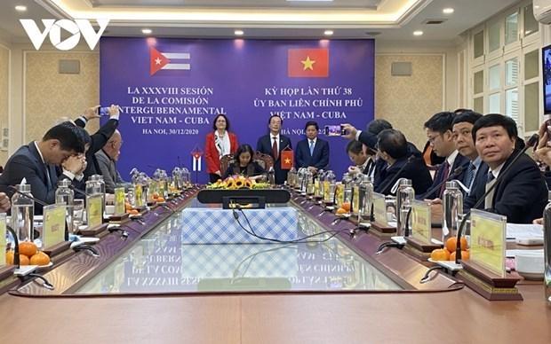 Buscan elevar valor comercial bilateral Vietnam-Cuba a 500 millones de dolares hinh anh 1
