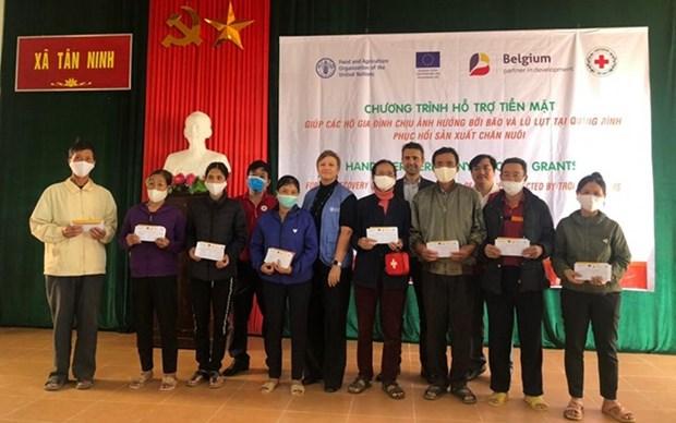 Belgica apoya a campesinos en provincias centrales de Vietnam hinh anh 1