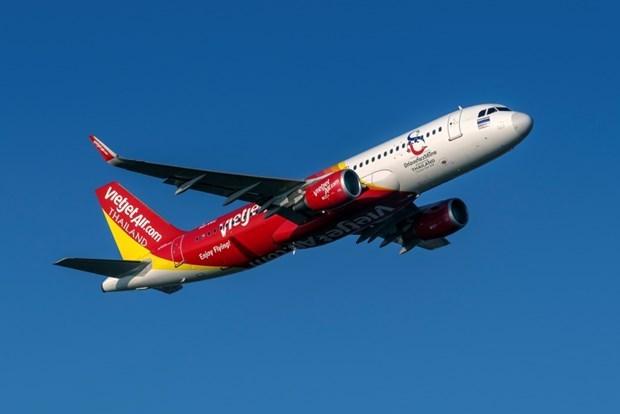 Thai Vietjet lanzara vuelos semicomerciales de Ciudad Ho Chi Minh a Bangkok hinh anh 1