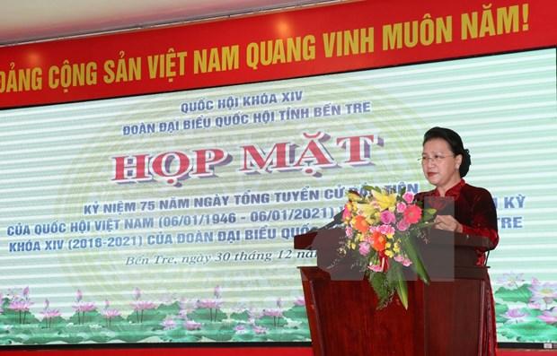 Conmemoran aniversario 75 de las primeras elecciones generales de Vietnam hinh anh 1