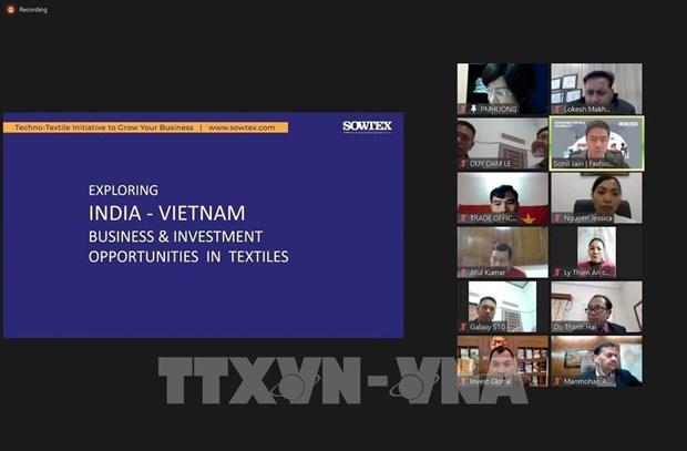 Vietnam y la India buscan promover la industria textil hinh anh 1