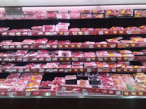 Ciudad Ho Chi Minh: Todas muestras de alimentos congelados importados resultan negativos al COVID-19 hinh anh 1