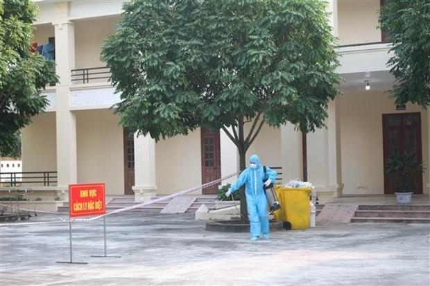 A mil 465 asciende numero de casos del COVID-19 en Vietnam hinh anh 1