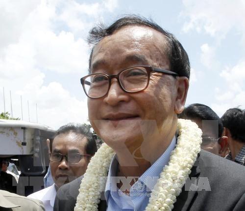 Condenan a cuatro anos de prision a dirigente opositor en Camboya hinh anh 1