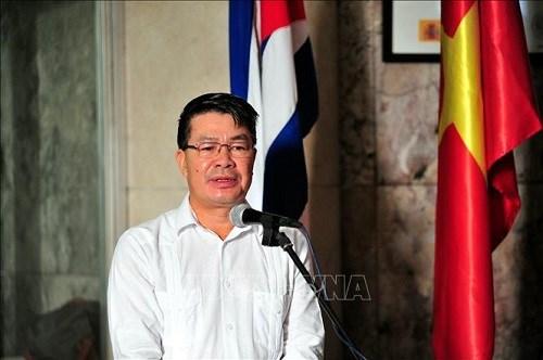 Saludan comunidades vietnamitas en Cuba y Malasia llegada del Ano Nuevo hinh anh 1