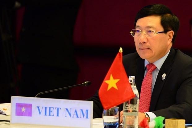 Labores de relaciones exteriores de Vietnam: 2020 exitoso y 2021, con nueva postura hinh anh 1