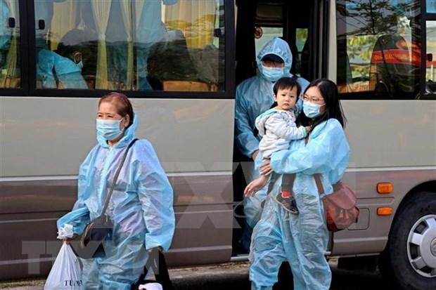 COVID-19: Repatrian a 360 ciudadanos vietnamitas desde Estados Unidos hinh anh 1