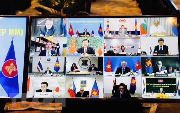 Acuerdo RCEP muestra esfuerzos de integracion de los paises de ASEAN hinh anh 1