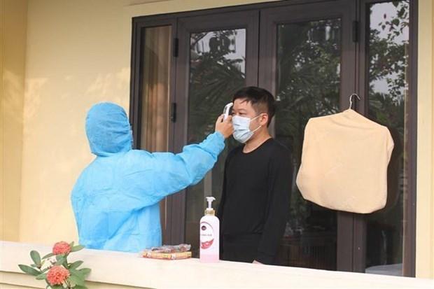 Vietnam registra ocho casos nuevos importados del COVID-19 hinh anh 1