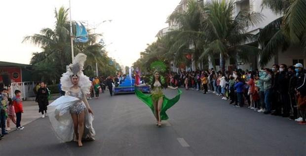 Efectuan por primera vez Carnaval de Invierno en provincia vietnamita hinh anh 3