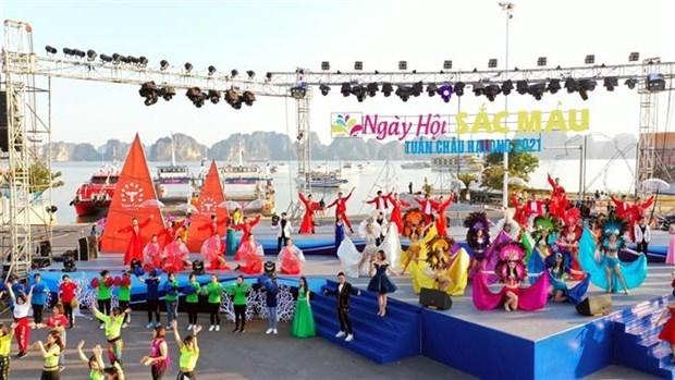 Efectuan por primera vez Carnaval de Invierno en provincia vietnamita hinh anh 1