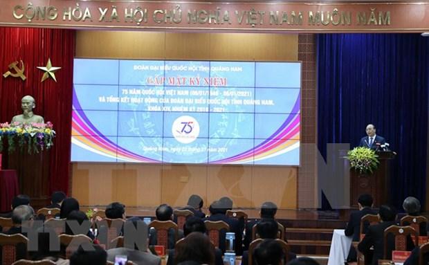 Premier asiste al aniversario 75 de las primeras elecciones generales de Vietnam hinh anh 1