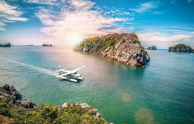 Provincia vietnamita de Quang Ninh recibe a 140 mil turistas en dos dias festivos hinh anh 1