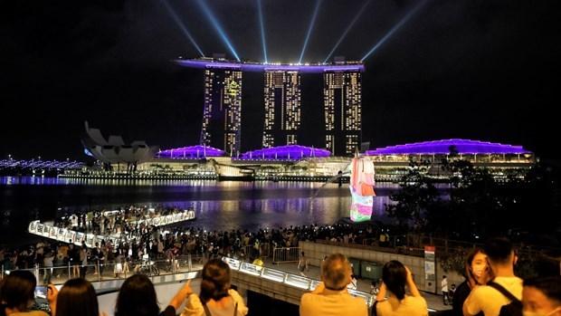 Economia de Singapur se contrae 5,8% en 2020 hinh anh 1