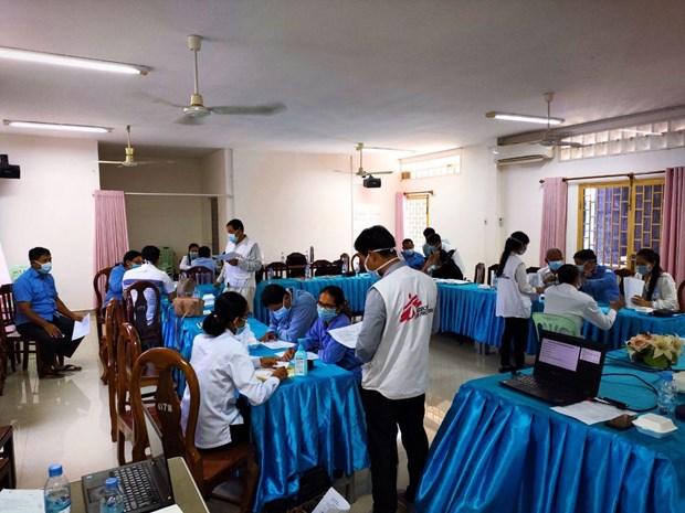 Camboya refuerza control fronterizo para prevenir nueva cepa del COVID-19 hinh anh 1