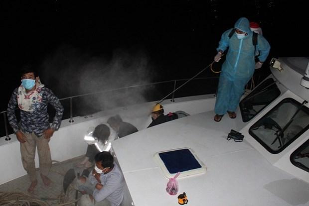 Ponen en cuarentena a seis migrantes ilegales en provincia vietnamita hinh anh 1