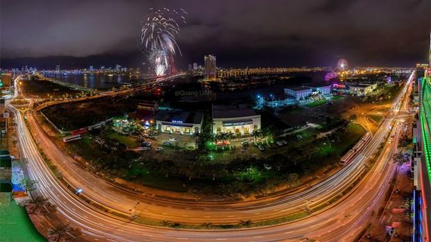 Ciudad vietnamita organizara espectaculos pirotecnicos en Ano Nuevo Lunar hinh anh 1