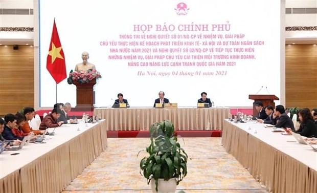 Gobierno de Vietnam traza medidas para cumplir plan de desarrollo socioeconomico hinh anh 2