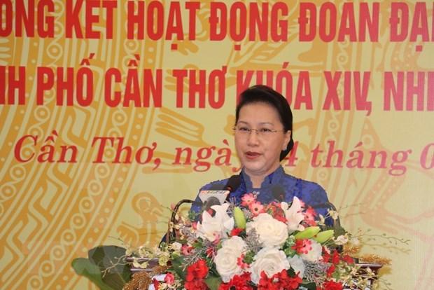 Conmemoran en ciudad vietnamita 75 anos de primeras elecciones generales hinh anh 1