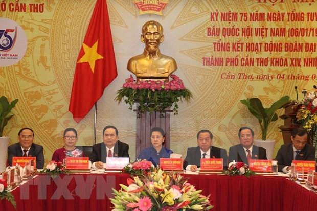 Conmemoran en ciudad vietnamita 75 anos de primeras elecciones generales hinh anh 2