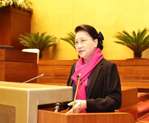 Piden continuar renovando actividades de la Asamblea Nacional de Vietnam hinh anh 1