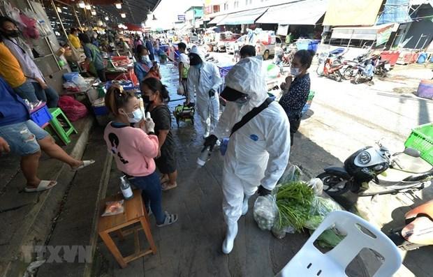 Nuevo brote de COVID-19 afecta a 100 mil trabajadores en Tailandia hinh anh 1