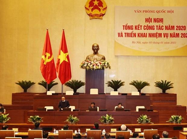 Piden continuar renovando actividades de la Asamblea Nacional de Vietnam hinh anh 3