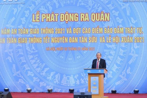 Lanza Vietnam Ano Nacional de Seguridad de Trafico 2021 hinh anh 1
