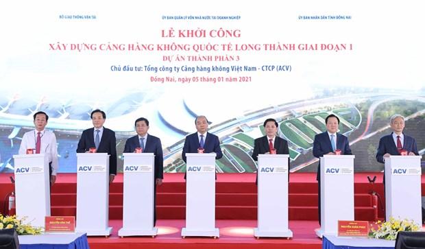 El aeropuerto Long Thanh coadyuvara al avance de un Vietnam poderoso hinh anh 1