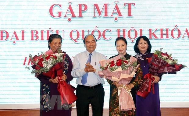 Fomenta Vietnam participacion femenina en puestos de liderazgo en agencias estatales hinh anh 1