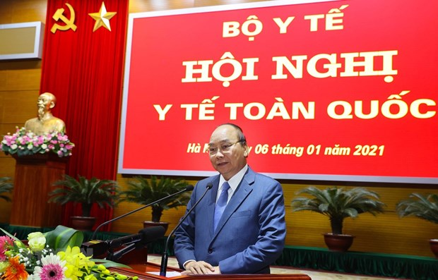 Premier de Vietnam insta al sector de salud a elaborar un plan de accion concreto hinh anh 1