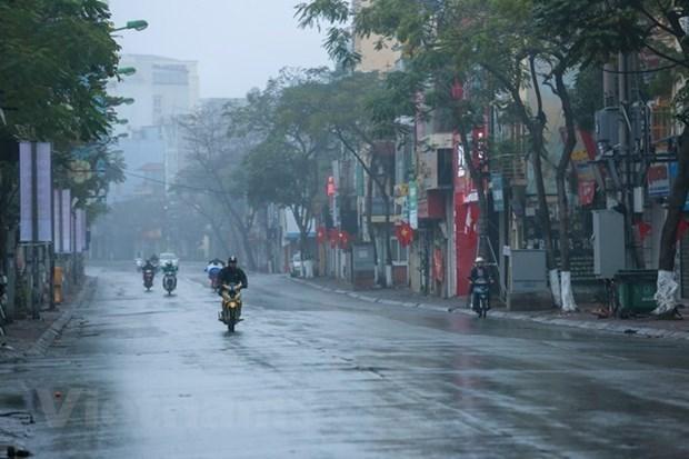 Ola de frio intenso afectara el norte y centro de Vietnam hinh anh 1