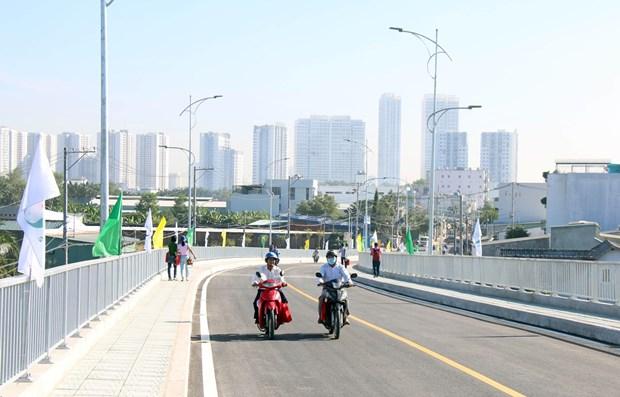 Ciudad Ho Chi Minh pone en marcha puente de Phuoc Loc hinh anh 1