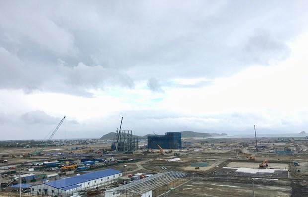 Zona economica clave del centro de Vietnam atrae diversos proyectos de inversion hinh anh 1